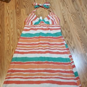 New! Old Navy sz Large halter maxi dress